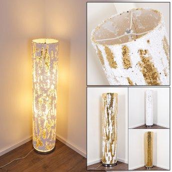 Sjaelland Lampa Stojąca Złoty, 2-punktowe