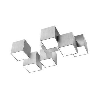 Grossmann ROCKS Lampa Sufitowa LED Aluminium, 6-punktowe