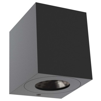 Nordlux CANTO Zewnętrzny kinkiet LED Czarny, 2-punktowe