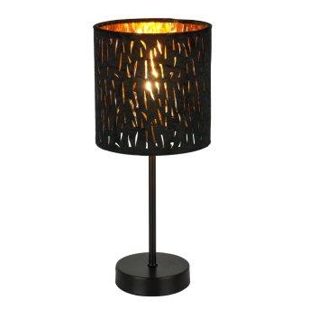 Globo TUXON Lampa stołowa Czarny, 1-punktowy