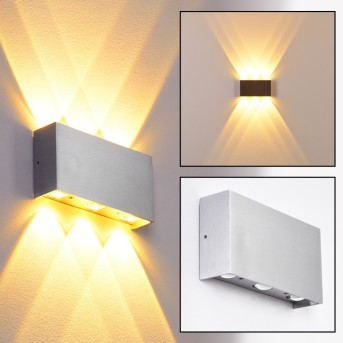 B-Leuchten Lente lampa ścienna LED Aluminium, 6-punktowe
