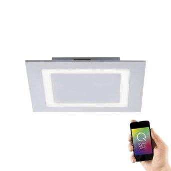 Paul Neuhaus Q-MIRAN Lampa Sufitowa LED Aluminium, 1-punktowy, Zdalne sterowanie, Zmieniacz kolorów