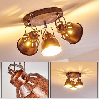 Lampa Sufitowa Safari Rudy, 3-punktowe