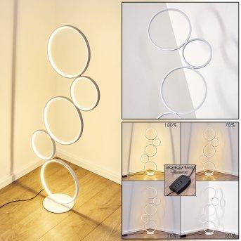 Rodekro Lampa Stojąca LED Biały, 1-punktowy