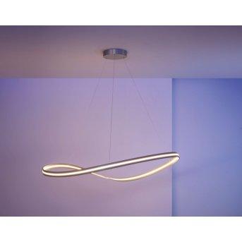 Escale Infinity Lampa Wisząca LED Nikiel matowy, 1-punktowy