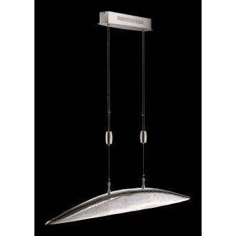 Fischer SHINE Lampa wisząca LED Nikiel matowy, 6-punktowe