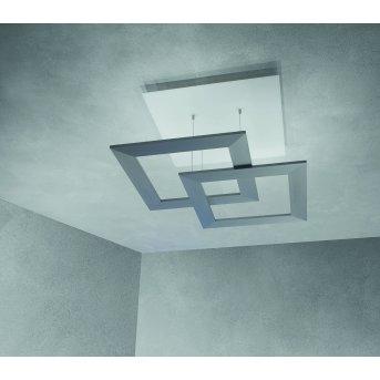 Escale ZEN D2W Lampa Sufitowa LED Siwy, 10-punktowe