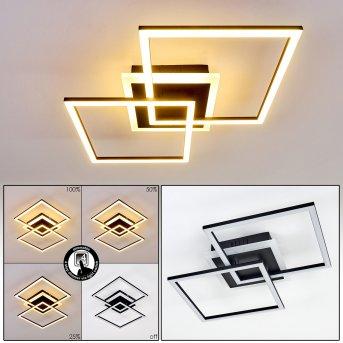 Lithgow Lampa Sufitowa LED Czarny, 1-punktowy