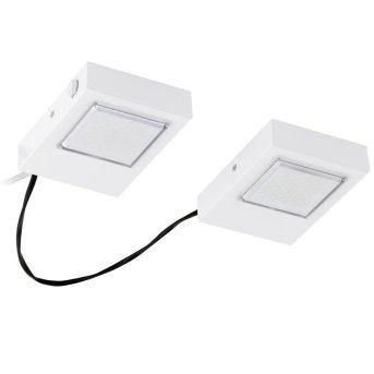 Eglo LAVAIO kuchenna oprawa wpuszczana LED Biały, 2-punktowe