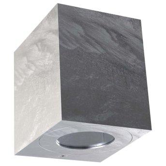 Nordlux CANTO Zewnętrzny kinkiet LED Srebrny, 2-punktowe