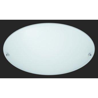 Trio 6196 lampa sufitowa Aluminium, Biały, 1-punktowy