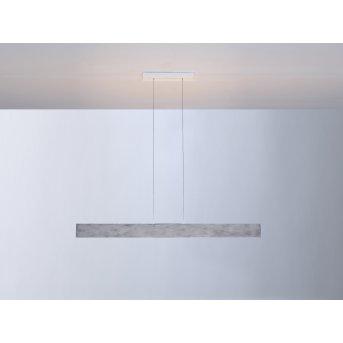 Escale VITRO Lampa Wisząca LED Siwy, Aluminium, 1-punktowy