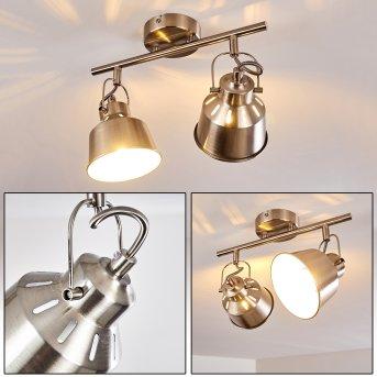 Lampa Sufitowa Safari Szczotkowany chrom, 2-punktowe