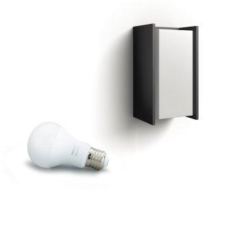 Philips Hue White Turaco Lampa ścienna Antracytowy, 1-punktowy