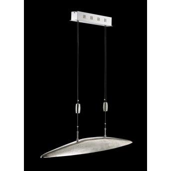 Fischer SHINE Lampa wisząca LED Nikiel matowy, 5-punktowe