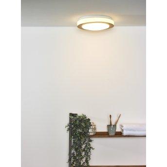 Lucide DIMY Lampa Sufitowa LED Ciemne drewno, 1-punktowy