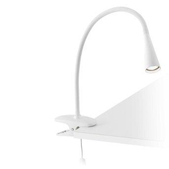 Faro Lena lampa z klipsem LED Biały, 1-punktowy
