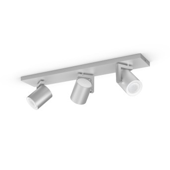 Philips Hue Ambiance White & Color Argenta rozszerzenie zestawu podstawowego do lampy sufitowo-ściennej Srebrny, 3-punktowe, Zmieniacz kolorów