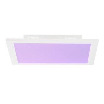 Brilliant Abie Lampa Sufitowa LED Biały, 1-punktowy, Zdalne sterowanie, Zmieniacz kolorów