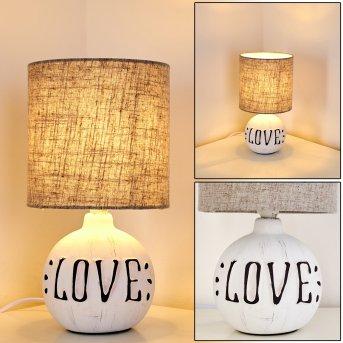 Seon LOVE Lampa stołowa Biały, 1-punktowy