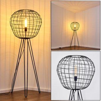 Flambeau Lampa Stojąca Czarny, 1-punktowy