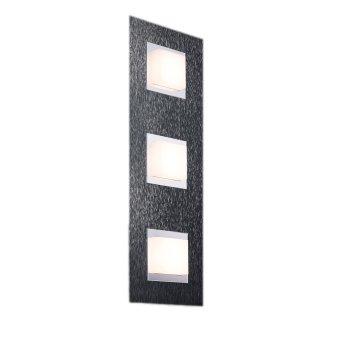 Grossmann BASIC Lampa Sufitowa LED Antracytowy, 3-punktowe