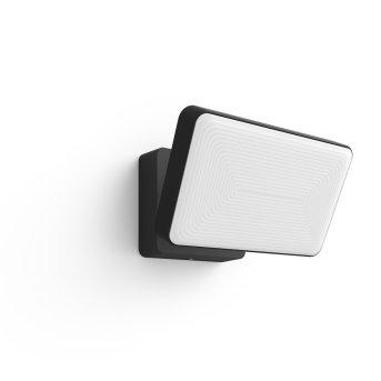 Philips Hue White Welcome światło ewakuacyjne LED Czarny, 1-punktowy, Zmieniacz kolorów