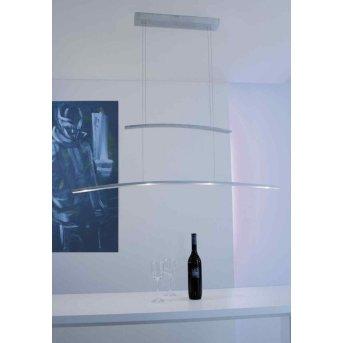 Bopp ARCO lampa wisząca LED Aluminium, 4-punktowe