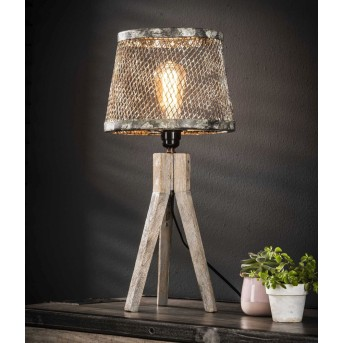 Schildwolde Lampa stołowa Rudy, 1-punktowy