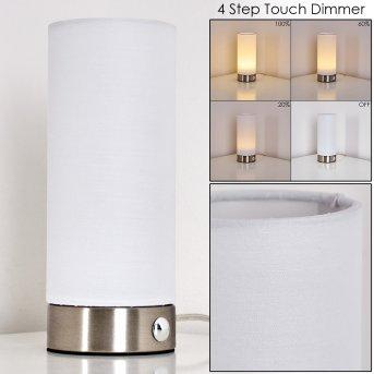 Osogna Lampa stołowa LED Nikiel matowy, 1-punktowy