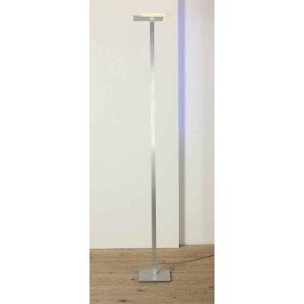 Bopp Flat Lampa stojąca oświetlająca sufit LED Aluminium, 7-punktowe