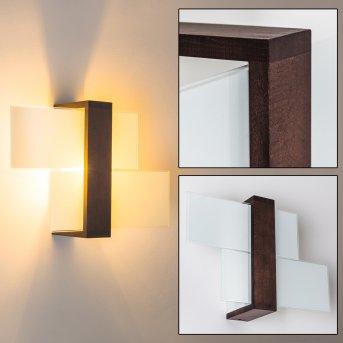 Lovikka Lampa ścienna Ciemne drewno, 1-punktowy