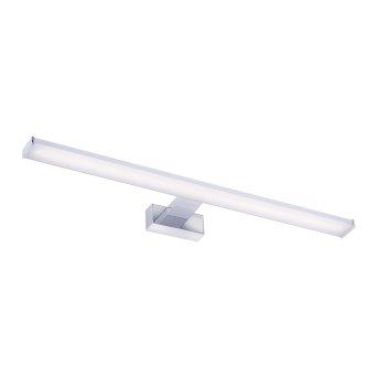 Leuchten Direkt MATTIS Lampa nad lustro LED Chrom, 1-punktowy
