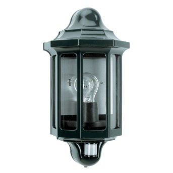 KS Verlichting Loreo Lampa ścienna Zielony, 1-punktowy, Czujnik ruchu