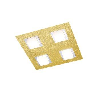 Grossmann BASIC Lampa Sufitowa LED Mosiądz, 4-punktowe
