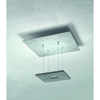 Escale ZEN D2W Lampa Sufitowa LED Siwy, 4-punktowe