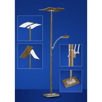 Żarówka Warm White E27 60 Watt 662 Lumenów LED Nikiel matowy, Ciemne drewno, 2-punktowe