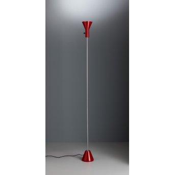 Tecnolumen ES 57 LED Reflektor Czerwony, Chrom, 1-punktowy