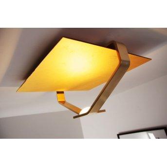 Elesi Luce lampa sufitowa LED Złoty, 1-punktowy