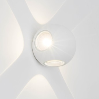 AEG Gus Zewnętrzny kinkiet LED Biały, 4-punktowe