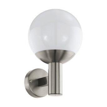 Eglo connect NISIA Zewnętrzny kinkiet LED Stal nierdzewna, 1-punktowy