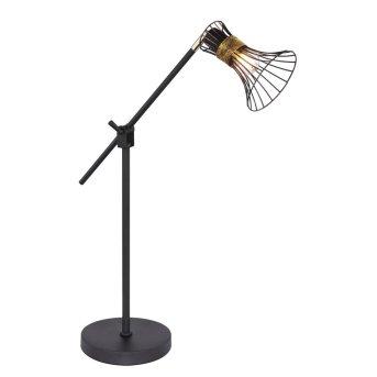 Lampa stołowa Globo PURRA Czarny, 1-punktowy