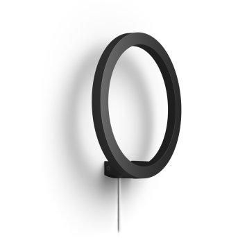 Philips Hue Ambiance White & Color Sana Lampa ścienna LED Czarny, 1-punktowy, Zmieniacz kolorów