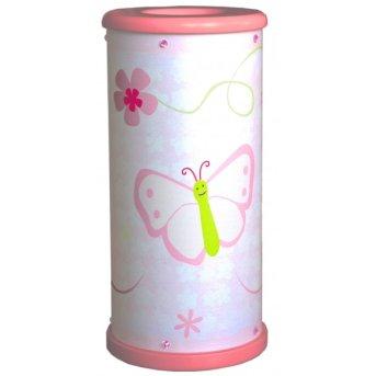 Waldi Papillon lampa stołowa Biały, 1-punktowy