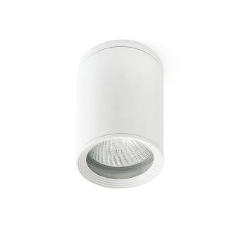 Faro Barcelona Tasa Lampa Sufitowa zewnętrzna Biały, 1-punktowy