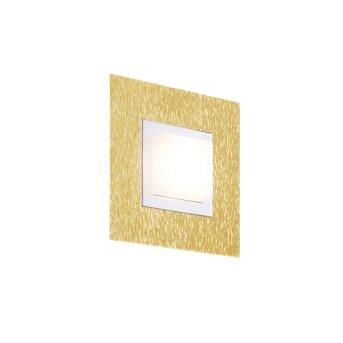 Grossmann BASIC Oświetlenie ścienne i sufitowe LED Mosiądz, 1-punktowy