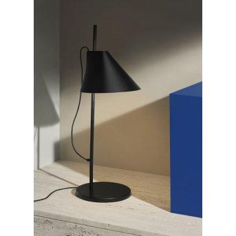 Louis Poulsen YUH Lampa stołowa LED Czarny, 1-punktowy