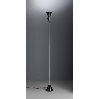 Tecnolumen ES 57 LED Reflektor Chrom, Czarny, 1-punktowy