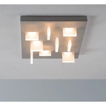 Escale Sharp Lampa Sufitowa LED Nikiel matowy, 9-punktowe