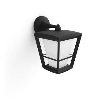 Philips Hue Ambiance White & Color Econic Lampa ścienna LED Czarny, 1-punktowy, Zmieniacz kolorów